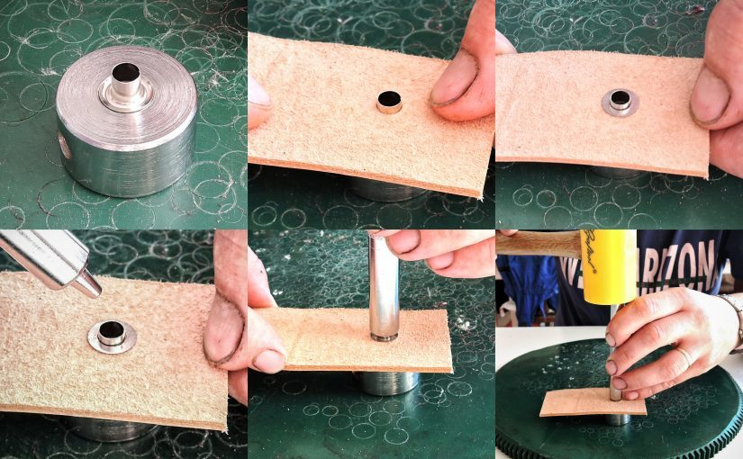 How to rivet eyelets (Photo Guide)